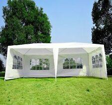 Gazebo Wedding Canopy Party Tent w/ 4 Removable Window Sidewalls