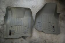 WeatherTech FloorLiner For Ford F-250/350/450/550 - 2011-2012 - 1st Row - TAN