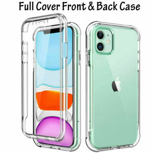 Clear CASE For iPhone 12 11 Pro Max Mini XR SE 8 7 6 5 Plus Transparent Cover