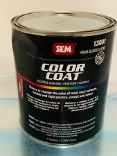 SEM ( 13001 ) Color Coat High Gloss Clear 1 Gallon