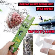 5M PVA 25/37/44mm Mesh Net Refill Carp Fishing Stocking Bait Wrap Lure