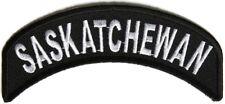 BRAND NEW SASKATCHEWAN PROVINCE STATE CANADA ROCKER BIKER IRON ON PATCH