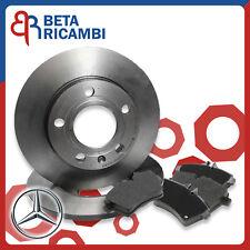 Dischi freno e pastiglie anteriori Mercedes Classe A W169 180 PB20217 22-0646-0