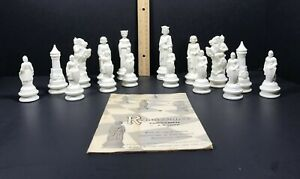 Vintage 1959 Renaissance White Chessmen Pieces By Lowe Replacement Piece  #838/9