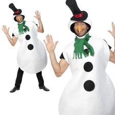 Adulte Costume de Bonhomme Neige Noël pour Hommes Femmes Olaf Déguisement OS