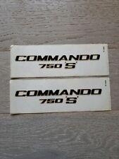 Norton commando 750 S Decal sticker pair