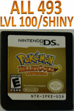 Unlocked Pokemon Heart Gold - All 493 Shiny Pokemon, All Items! DS, 3DS