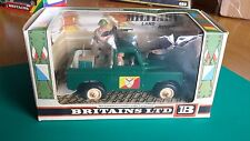 RARE MINT BRITAINS #9782 MILITARY LAND ROVER - BOXED
