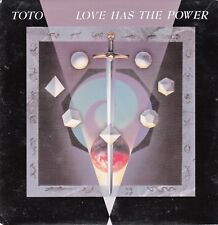 """45 T SP TOTO  """"LOVE HAS THE POWER"""""""