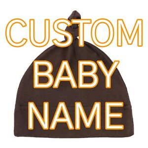 Personalized Baby Hat   Personalized Newborn Hat   Custom Baby Boy and Girl Hats
