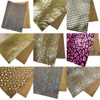 29x21cm A4 Vintage Fabric Soft Cork Sewing Synthetic Leather DIY Handbag Craft