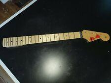 Maple Floyd Rose Nut Gloss Finish Custom Shop Guitar Neck For Fender Strat #86