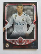 Cristiano Ronaldo 2017-18 Topps UEFA Museum Collection Ruby Parallel /25