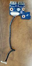 SAMSUNG NP300E4C SERIES NP305E4C USB POWER BUTTON BOARD W/CABLE BA92-10171A