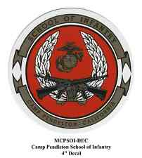 Marine Corps School of Infantry CamPen insignia decal/sticker (Usmc Soi Dui)