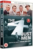 The Four Just Men: The Complete Series DVD (2012) Jack Hawkins cert 12 5 discs