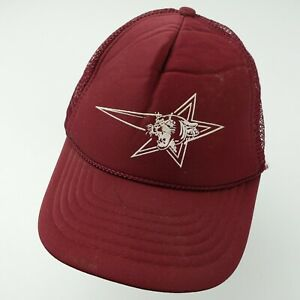 Tiger Cat Star Unknown Logo Team? Trucker Snapback Youth Cap Hat