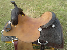 "16.5"" Spur Saddlery Reining Cowhorse Saddle - Made in Texas"