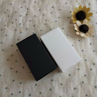 100 Black Kraft White wedding favor boxes birthday party favor cookie candy box