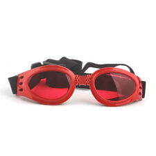 Adjustable Fashion Pet Dog Sun Glasses Eye Wear Protection UV Sunglasses Red