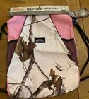 NWT New Realtree Backpack Pink Camo Camouflage String Drawstring Sack Gym Bag