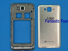 For Samsung Ativ S I8750 Silver New Full Housing Back Cover Door Lcd Frame