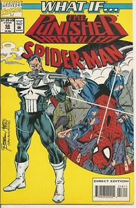 °WHAT IF... THE PUNISHER HAD KILLED SPIDER-MAN #58 ONESHOT° USA Marvel 1994