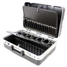 Parat Werkzeugkoffer leer mit Einsteckfächern schwarz (ohne Inhalt)