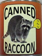 Raccoon Meat Gag Gift Can (Bb)