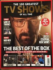100 Greatest TV Shows Of All Time Game Of Thrones Mad Men 2015 FREE SHIPPING!