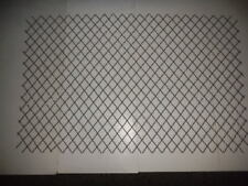 "Woven Steel Wire Mesh 41"" x 22"" #11 gauge, adjustable- 24"" x 28"" to 53"" x 14"""
