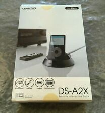 ONKYO DS-A2X iPod Remote Interactive Docking Station w/ Cables