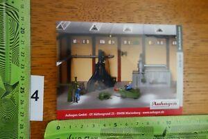 Alter Aufkleber Modellbau Modellbahn Gebäude Zubehör AUHAGEN 80 109