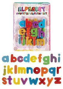 Magnetic Letters Alphabetic Fridge Magnets Full Alphabet A-Z Lower Case 4cm
