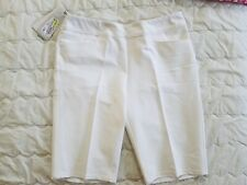 1 Nwt Adidas Women'S Shorts, Size: Medium, Color: White (J16)