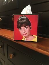 AUDREY HEPBURN TISSUE BOX COVER