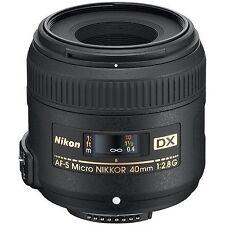 Nikon AF Macro/Close Up Camera Lenses