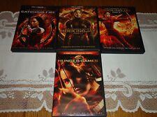 The Hunger Games, Catching Fire, Mockingjay Part 1 & 2 (5 DVD Widescreen Set)