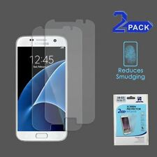 2-Pack Matte Anti-Glare LCD Screen Protector Film Cover For Samsung Galaxy S7