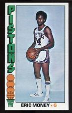 1976-77 Topps #58 Eric Money RC Pistons Carte NBA Basketball