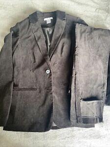 Laredoute Velour Suit - Size 12