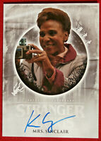 STRANGER THINGS - KAREN CEESAY - Personally Signed Autograph Card - Topps 2019