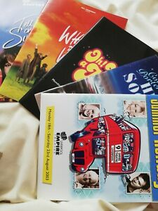 Musical Theatre Programmes X 5 Used