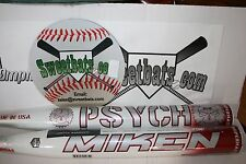 New Miken Psycho SuperMax Maxload 34 28 SPSYMA HOT softball bat NIW 2014 Rare