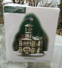 2004 Department 56 New England Village #56.56670 Woodbridge Town Hall Unused mib