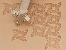 Craftool Leather/Clay Embossing Stamp -K139 Spiral Background (66139-00)