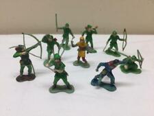 1960's 9 MARX Robin Hood Sherwood Forest characters - Canada