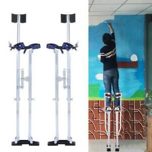 """24""""-40"""" Adjustable Aluminium Drywall Stilts for Builder Painting Plastering"""