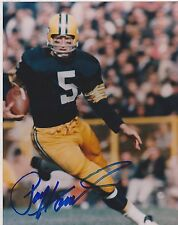 8x10 SIGNED PHOTO  #691 -  SPORTS - FOOTBALL - PAUL HORNUNG - PACKERS