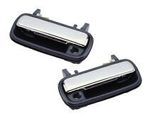 1990-1995 Toyota 4Runner//Toyota Pickup Left Front Outer Door Handle Pair Chrome